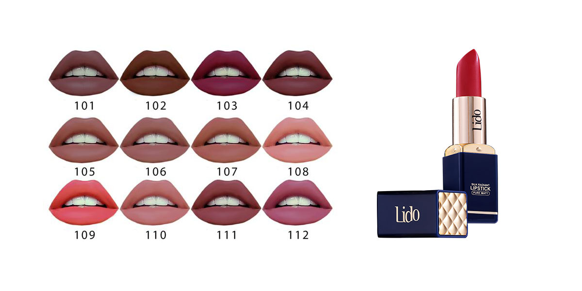 Lido Lipstick Pure Matt